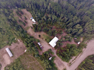 $139,900 5 acres + 1759sqft home - 4359 Guy Road - Rural Quesnel