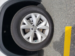 Brand New Stock VW Atlas wheels and tires