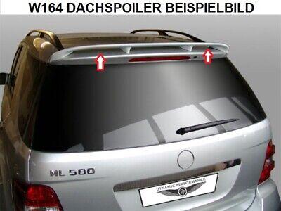 HECKSPOILER SPOILER FÜR MERCEDES W164 ML MIT GUTACHTEN MP DESIGN