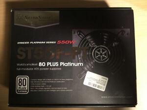 SilverStone Technology Platinum 550W Power Supply