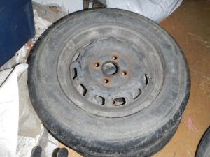 4 Rim et pneu d'été 175/70R13 Toyota Tercel