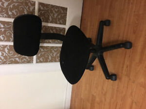 Computer office black small chair 25 price to sell