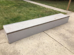 Skate Board Ledge (or rails)