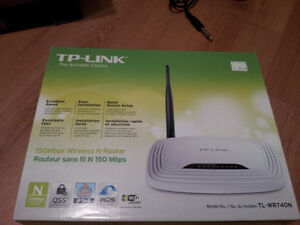TP Link Wireless Router London Ontario image 1