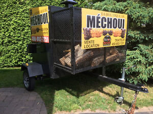 BBQ fumoir professionel , grill , rotisserie ,charbon bois West Island Greater Montréal image 2