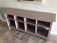IKEA HEMNES TABLE IN GREY BROWN-EXCELLENT CONDITION!