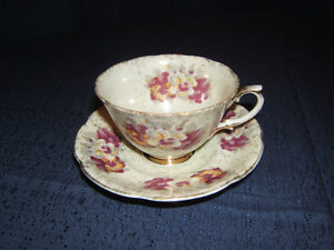 Trimont Cup and Saucer - Fine Bone China - Japan
