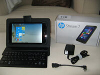 Hewlett-Packard Stream 7 with Bluetooth keyboard
