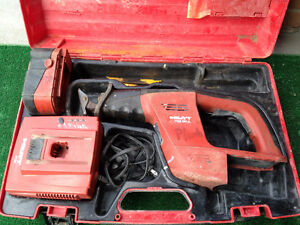 hilti sawzall and dewalt drill