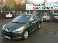 2007 PEUGEOT 207 SE 1.6L HDI £30 A YEAR TAX AND FULL SERVICE HISTORY
