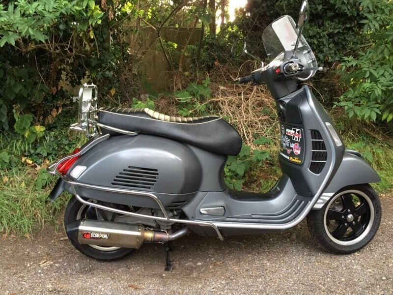 piaggio vespa 300 gts reg as 125 l k in rochford essex gumtree. Black Bedroom Furniture Sets. Home Design Ideas