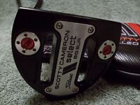 Scotty Cameron Titleist Milled Putters Select Big Sure 49''gauch