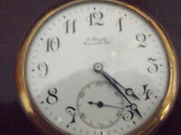 LONGINES POCKET watch circa 1921