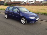 54 REG FIAT STILLO 1.6 MOT 1 YEAR astra gocus golf civic megane peugeot 307