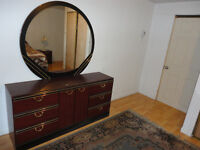 Bedroom set, 4 Pcs, in perfect condition