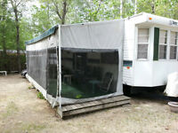 40 Foot Park Model Trailer and Site at Lilac Resort