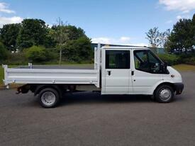 Ford Transit 2.2TDCi ( 100PS ) ( EU5 ) ( RWD ) 350L Double cab Ch 350 LWB DRW