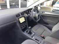 2017 Volkswagen Golf SE Nav 1.4 TSI 125PS 6-speed Manual 5 Door Petrol grey Manu