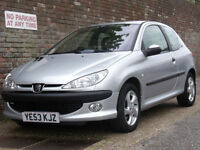 Peugeot 206 2.0HDi 90 D Turbo 2003(53) Diesel 3 Door Hatchback