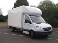 Man and Luton van with Tail Lift (All London / Nationwide