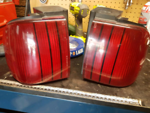 90s Mercury Cougar mirrors and taillights