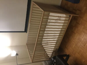 Crib, matress and other