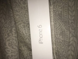 IPhone 6 32g locked to Fido , BRAND New still in box