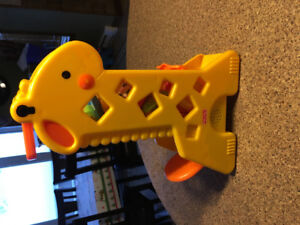 Girafe musicale Fisher price
