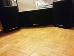 Pioneer surround sound system