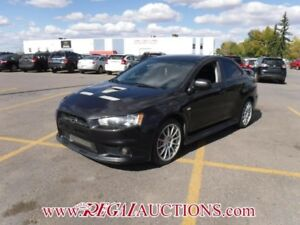 2014 MITSUBISHI LANCER EVOLUTION GSR 4D SEDAN 2.0L EVOLUTION GSR