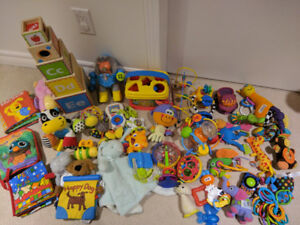 Huge Sets of Baby and Toddler Toys