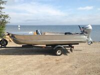 Complete Boat and  Motor Set