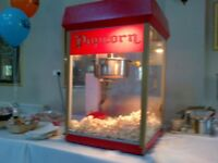 Popcorn Machine Hire - Self service or with attendant from £45 & other Party/Event Services