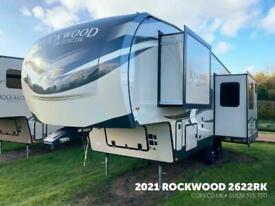 2021 Rockwood 2622RK • 5th Wheel American Caravan RV • Static & Touring