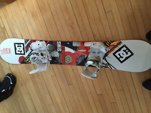 Snowboards, bindings, boots, goggles, snowpants, jackets