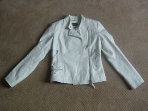 WOMANS/YOUNG WOMANS SMALL LEATHER MOTO JACKET