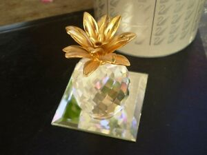 "Swarovski Crystal Figurine - "" Pineapple "" 7507NR Kitchener / Waterloo Kitchener Area image 7"