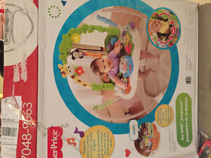 Go wild Jumperoo - Fisher Price Kitchener / Waterloo Kitchener Area image 1