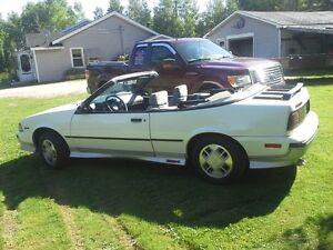 1988 cavalier  z24 convertible