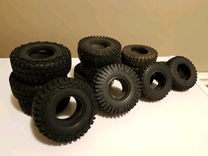 1.9 rc tires and rc4wd bumper new