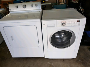 Washer and dryer for sale works great