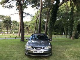 2004 Saab 9-3 2.0 Turbo Vector Sport 2 Door Convertible Grey