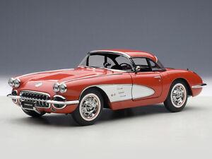 AUTOart Chevrolet Corvette 1958 Signet Red 1:18 (71148)