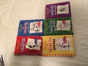 Diary of a Wimpy Kid Set 1-5 Kitchener / Waterloo Kitchener Area image 1
