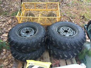 4 Yamaha rims and tires for sale