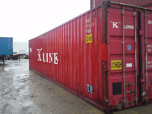 Shipping and Storage Containers in 20' and 40' for SALE!!!