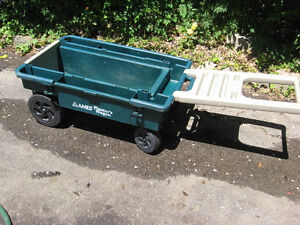 PLANTER WAGON  GOOD FOR GARDENING AND PLANTING PLANTS FLOWERS Cambridge Kitchener Area image 1