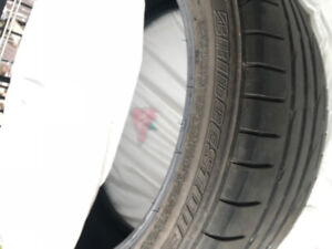 4 x Bridgestone RFT Tires 225-45-18