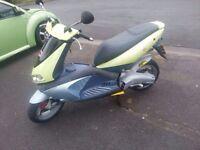 Aprilia 50cc scooter moped