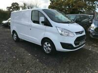 2017 Ford Transit Custom LIMITED L1 H1 FREE DELIVERY Panel Van Diesel Manual